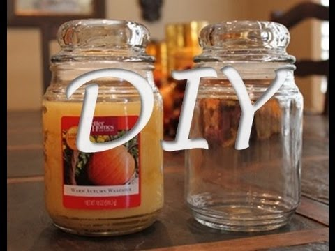 DIY: Candle Wax Removal - YouTube