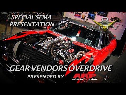6 Second Street Driven Muscle Cars at Gear Vendors SEMA 2015  V8TV