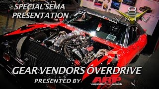 6 Second Street Driven Muscle Cars at Gear Vendors SEMA 2015 Video V8TV