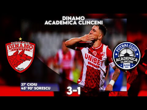 Dinamo Bucharest Academica Clinceni Goals And Highlights