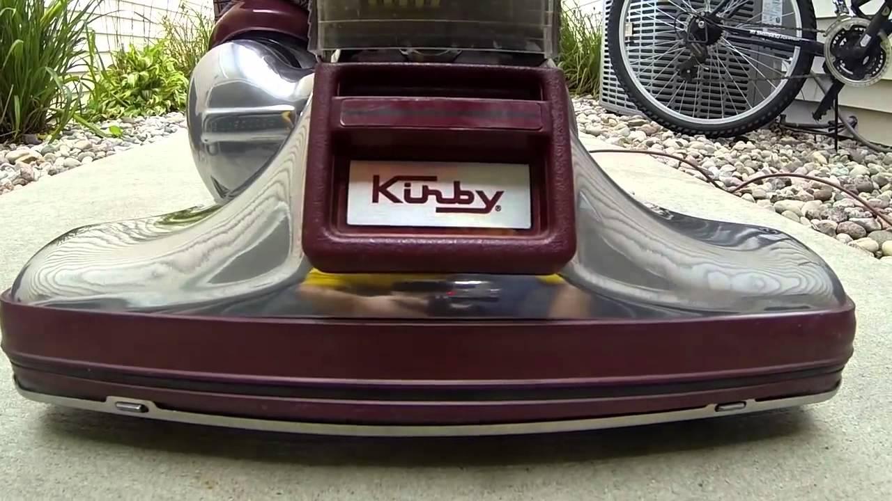 Kirby Heritage Legend Ii 2 Vintage Vacuum Cleaner Led