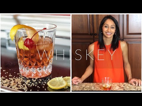 Westworld Whiskey Cocktail | Old Fashioned With Lemon Simple Syrup | Ritzy Recipes With Sarita