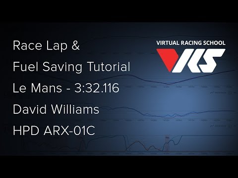 Le Mans - HPD - Race Lap and Fuel Saving Tutorial