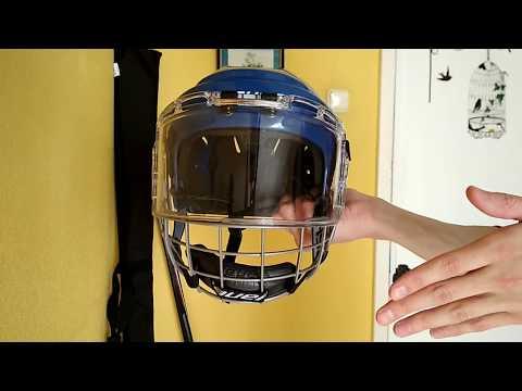 Обзор, мнение владельца гибридной маски Bauer Hybrid Shield