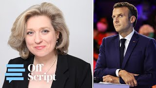 video: Arrogant Macron's France is disintegrating. People are crying out for Boris's optimism