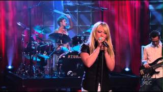 Hilary Duff  - Fly - Live on Jay Leno (2004)
