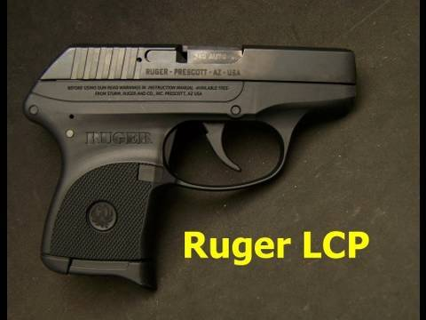 Ruger LCP Pistol Review & Field Strip