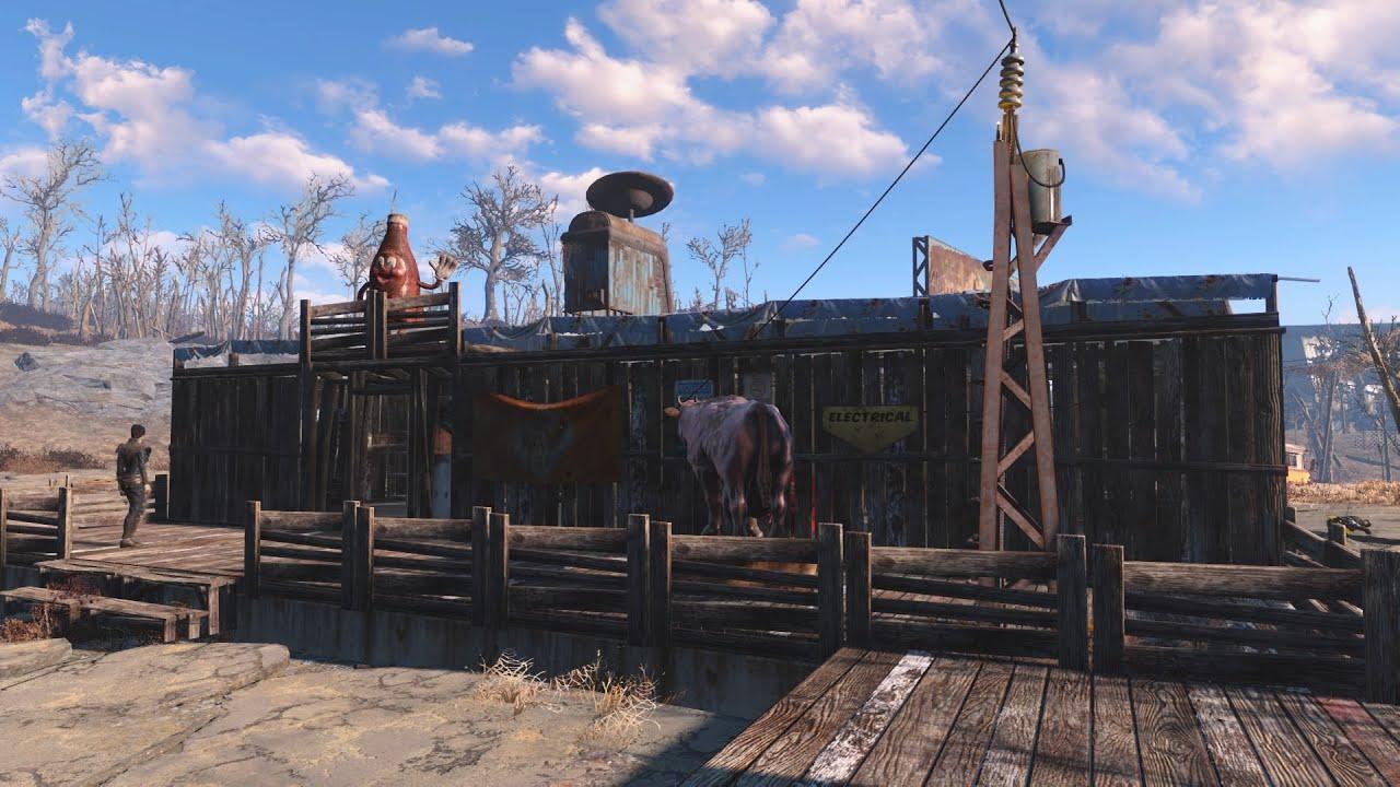 フォールアウト4 初心者の方向けの家の作り方(DLCほぼ無し 建築)