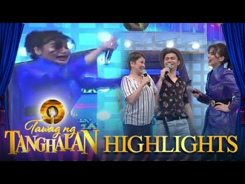 Huli-Cam catches Anne slipping from the stage | Tawag ng Tanghalan