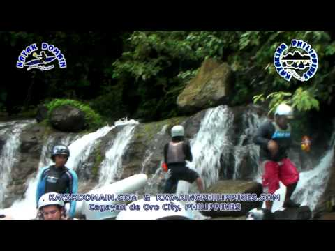 Tignapoloan Put-in and its 1st Three Rapids Whitewater Rafting