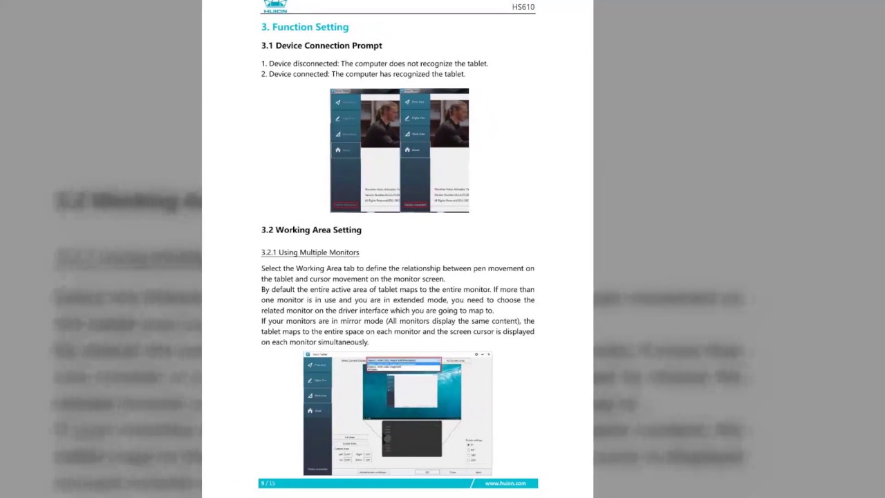 Huion HS610 User Manual