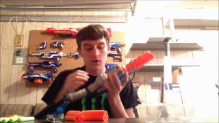 APOLOGIES and Nerf Sledgefire Unboxing and Review