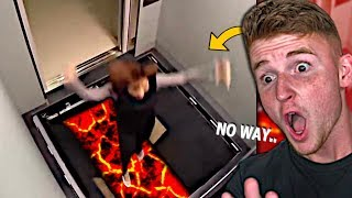 The FUNNIEST Elevator Prank EVER..