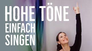 Hohe Töne singen - DIESE 5 einfachen Tipps funktionieren wirklich! Hoch singen lernen   singdu.de