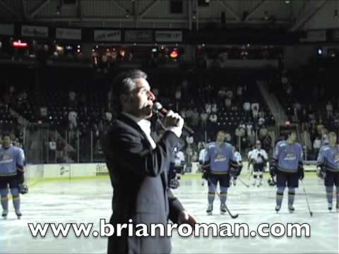 "BRIAN ROMAN:Canadian/American Anthems.""O'Canada/Star Spangled"""