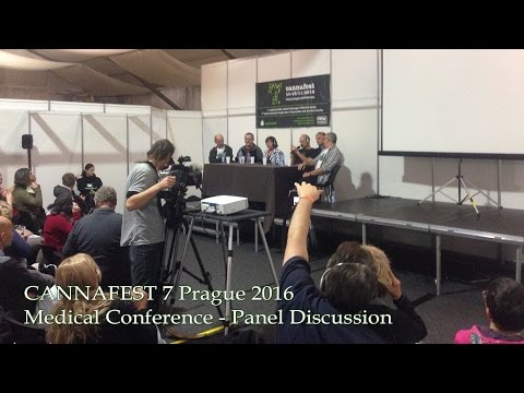 CANNAFEST Medical Conference Prague 2016 - Panel Discussion