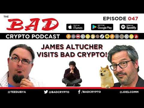 James Altucher Visits Bad Crypto
