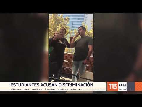 Estudiantes Denuncian Discriminación En Café De Santiago