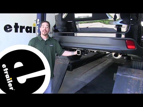 Etrailer | Curt Trailer Hitch Installation - 2019 Toyota Highlander