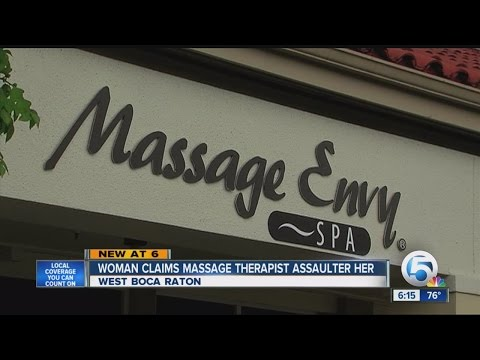 Massage therapist sued