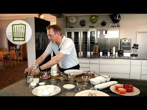 geschmackvoll anrichten und dekorieren chefkoch youtube. Black Bedroom Furniture Sets. Home Design Ideas