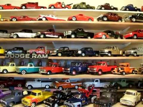 Diecast model American pickup truck collection
