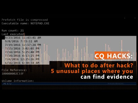 What to do after hack – 5 unusual places where you can find evidence