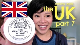 Emmy Eats The Uk Part 7 - Patum Peperium & Parma Violets