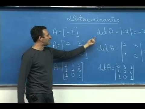 G1 - Saiba como calcular uma determinante
