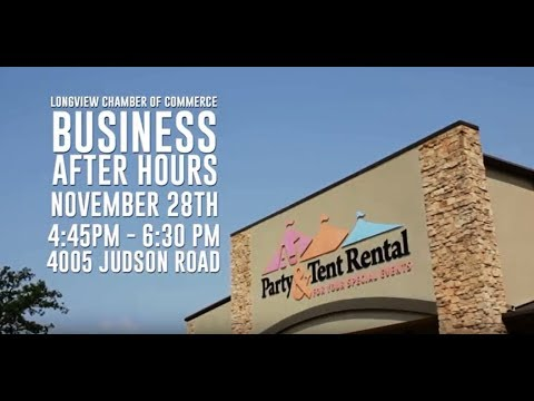 Business After Hours- A-1 Party and Tent Rental