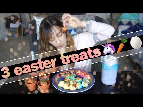 【隨便小廚娘】復活節超簡單點心 // easter treats | ClumsyCynthia黃可樂