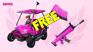 How To Get Free Cuddle Hearts Wrap // Fortnite Share The Love Event // Overtime Challenges