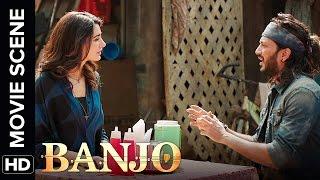 Nargis Fakhri likes Mumbai's Tapoori language | Banjo | Movie Scene
