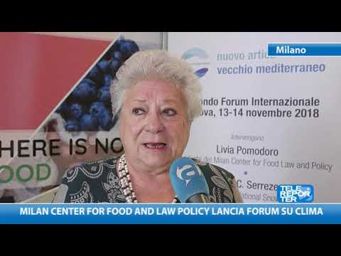 Milan Center for Food and Law Policy lancia Forum su clima