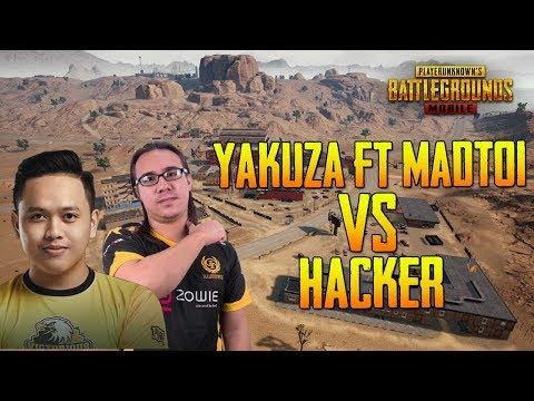 YAKUZA FT MADTOI VS ENEMY HACKER !!! YAKUZA MIRAMAR GAMEPLAY   PUBG MOBILE