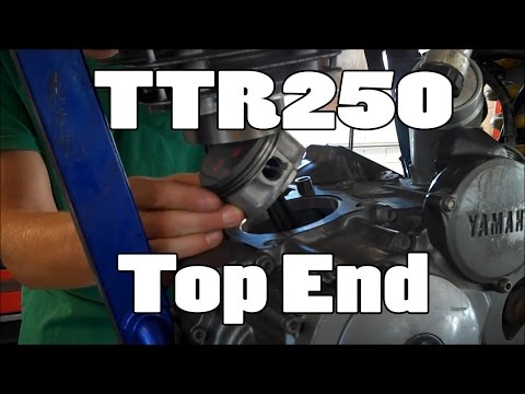 How-To: Yamaha TTR250 Top End Replacement 1999-2006 (3rd patron!)