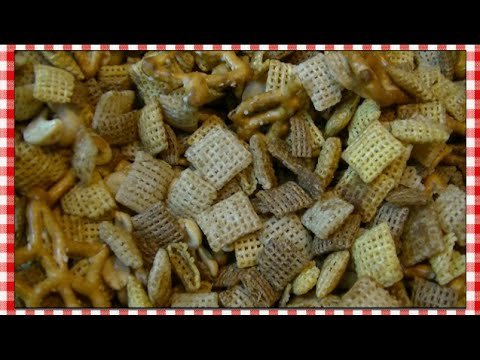 Super Flavorized Cereal Snack Mix Recipe ~ Noreen's Kitchen