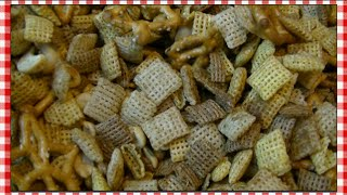Super Flavorized Cereal Snack Mix Recipe ~ Noreen