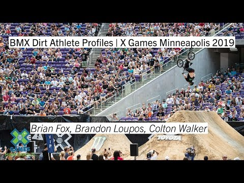 BMX Dirt Athlete Profiles | X Games Minneapolis 2019