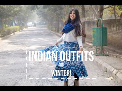 Indian outfits for winter!| Sejal Kumar