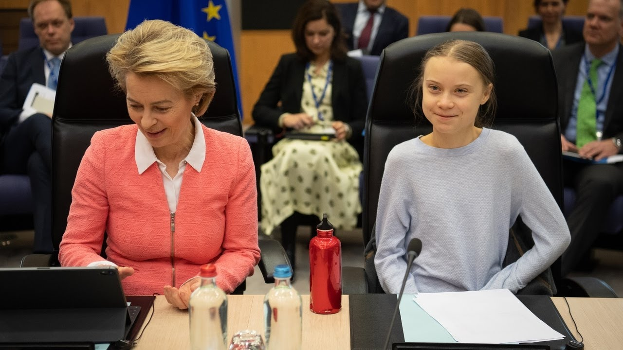 Greta Thunberg 'reads off the same old climate change script'
