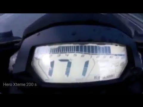 Hero Xtreme S Top Speed in Bangalore