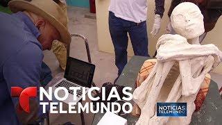 La momia de Nazca, ¿fraude o extraordinario hallazgo? | Noticiero | Noticias Telemundo
