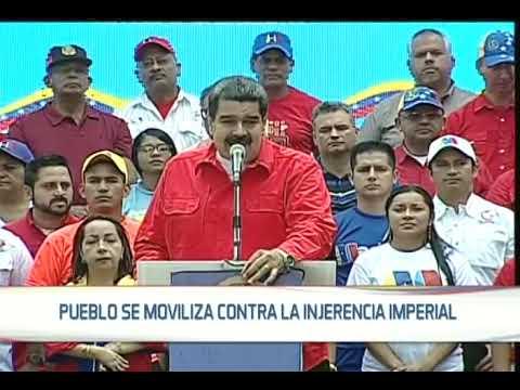 Presidente venezolano Nicolás Maduro repudia bombardeo a Siria y culpa a industria armamentista