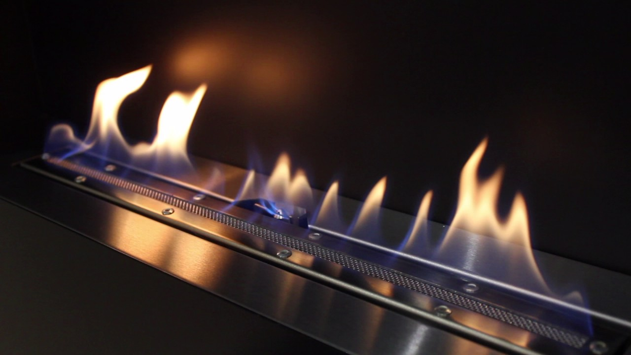cvo fire recessed angel flueless gas fireplace youtube