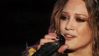Hilary Duff - Someone´s Watching Over Me (Live) Dignity Tour Official