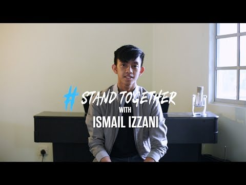 Teen star Ismail Izzani supports a National Kindness Week #StandTogether