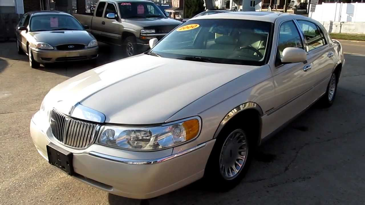 2000 Lincoln Town Car Cartier L Elite Auto Outlet Bridgeport Ohio