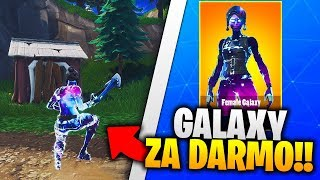 NEW FREE SKIN GALAXY in FORTNITE!! HOW TO PLAY? THE SECRETS OF FORTNITE!!
