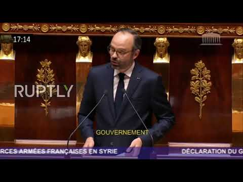 France: Syria strikes 'not a prelude of war' - French PM tells National Assembly